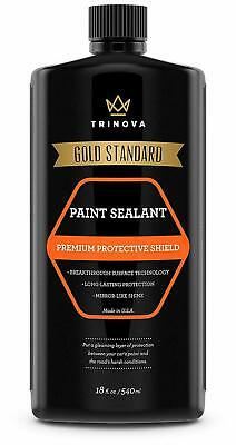 TriNova Paint Sealant for Car Long Lasting Protection and Shine Prevent UV 18 Oz
