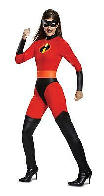 Mrs. Incredible Disney Incredibles 2 Fancy Dress Up Halloween Adult Costume