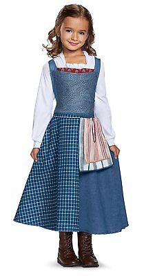 Toddler Child Disney Belle Village Dress Beauty & The Beast Costume - Costume Village