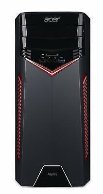 Acer GX-281 Ryzen 5-1600 8GB 1TB GeForce GTX 1050Ti 4GB Desktop Gaming PC
