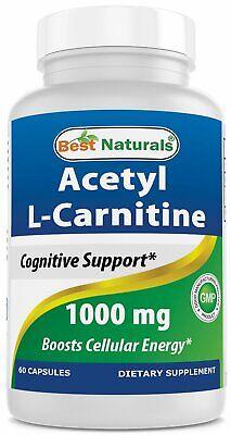 Best Naturals Acetyl L-Carnitine 1000 mg 60