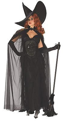 Elegant Witch Wicked Woman Opus Collection Fancy Dress Halloween Adult Costume - Elegant Witch Costume