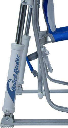 Waterside Beach Rocker Portable Folding Low Rocking Chair