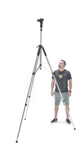 Glide Gear TST 100 Very Tall Sports Soccer Video Camera Photography 10 FT Tripod