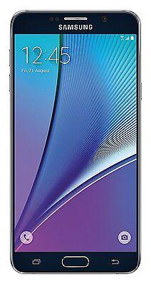 New Overstock Verizon Samsung Galaxy Note 5 SM-N920V 64 GB Black Phone