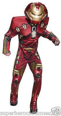Erwachsene Avengers Kostüm (Avengers Age Of Ultron Hulk Buster Deluxe Muskel Erwachsene Kostüm Neu - 810299)