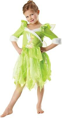 Girls Official Winter Wonderland Tinkerbell Fairy Fancy Dress Costume Outfit](Tinkerbell Winter Fairy Costume)
