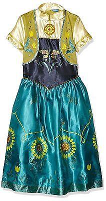 SPECIAL OFFER DISNEY FROZEN FEVER ANNA DELUXE SNOW QUEEN FANCY DRESS COSTUME 7/8](Frozen Anna Deluxe Costume)