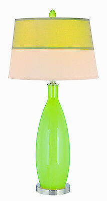 Table Lamp Green Gillespie Designer Fabric Shade Lite Source (Lite Source Green Table Lamp)