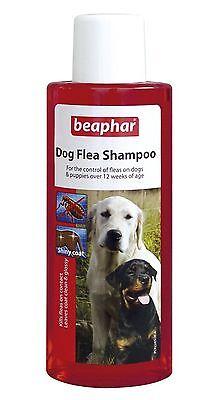 Beaphar Dog Flea Wash Bath Shampoo Treatment Dogs Puppies Killing Fleas 250ml