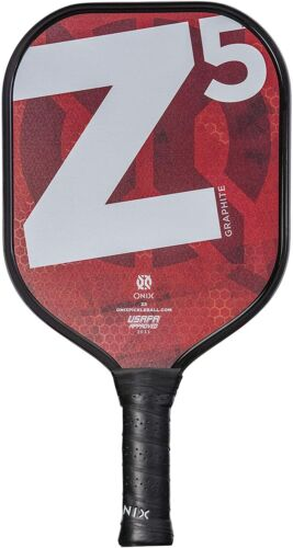 Onix Z5 Graphite Pickleball Paddle (Red) ~ New ~ (CLEARANCE)