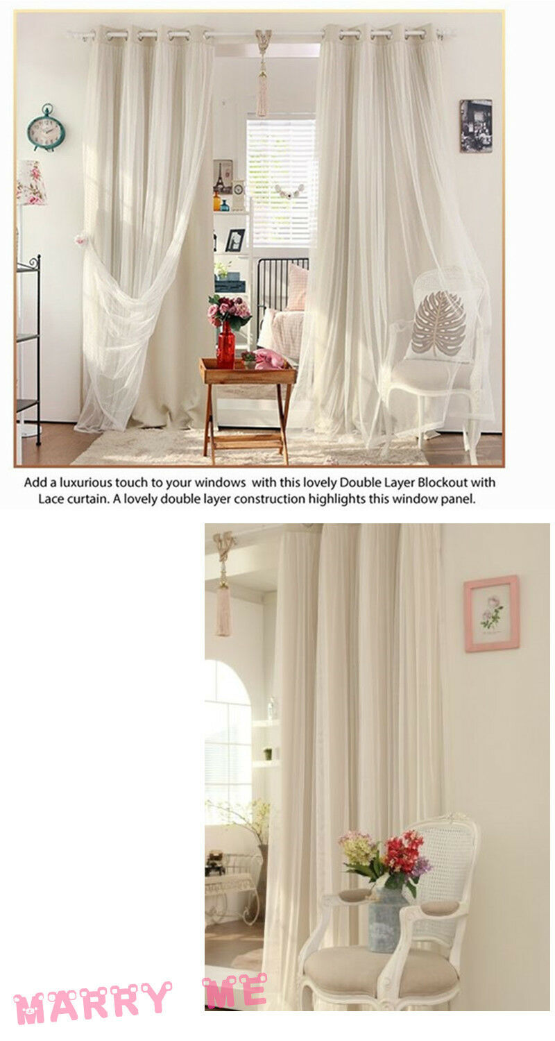 eyelet curtains lounge bedroom bridal lace girls curtain beige cream