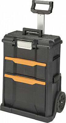 2 in 1 Rolling Tool Box Workshop Transporting Storage Garage