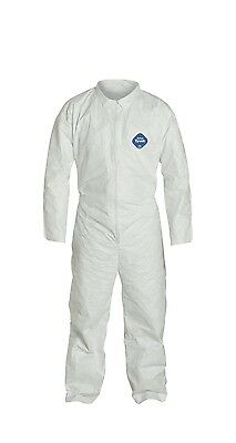 Dupont Disposable Tyvek Coverall Elastic Wristankle 3 Pack Size Xl