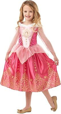 Niña Disney Princesa Bella Durmiente Aurora Día Del Libro Disfraz