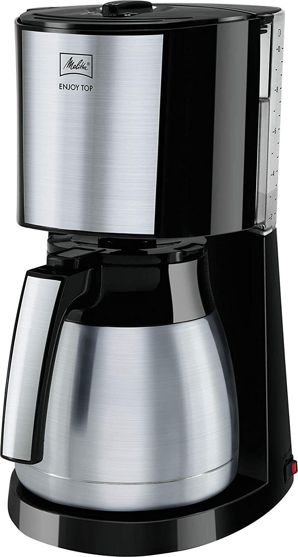 Melitta  Enjoy Top Therm 1017-08 Filter-Kaffeemaschine, Edelstahl, schwarz OVP