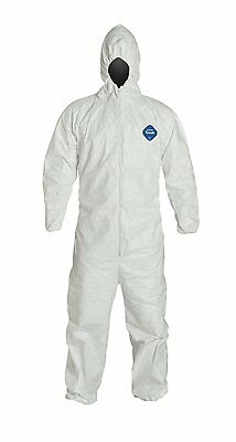 Dupont Ty127s-2xl Tyvek Coveralls Bunny Suit Case25