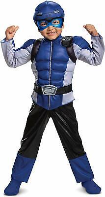 Disguise Blau Ranger Biest Morpher Kleinkind Jungen' Muskel - Blaue Biest Kind Kostüme