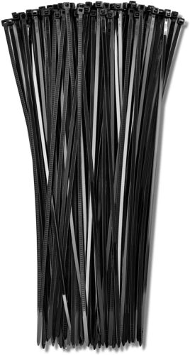 100pcs Cable Zip Ties 12 Inch Long Cable Ties Super Strong Nylon Cord Wrap Black