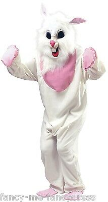Mens Ladies Evil White Easter Rabbit Bunny Halloween Fancy Dress Costume Outfit