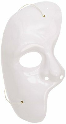 Phantom Maske weiß Musical Charakter Halloween Oper Kostüm Halbmaske 12159313