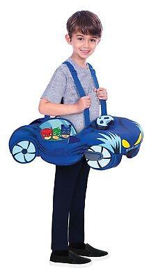 Jungen Mädchen Offiziell Pyjama Masken darauf Reiten Catmobile Auto Maskenkostüm