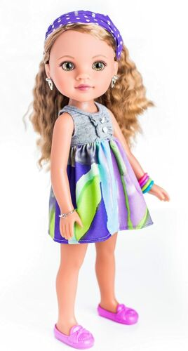 Hearts For Hearts Girls Lauryce from New Orleans, USA 14-inch Doll