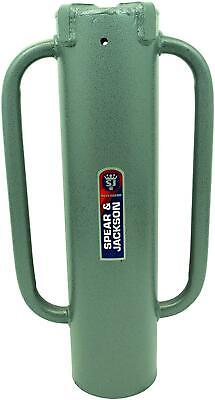 PHR5 Landscaping And Fencing Post Hole Rammer, Silver
