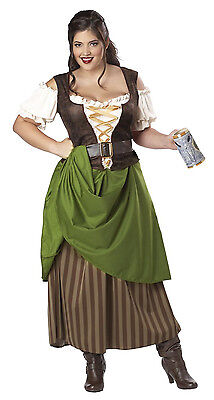 Tavern Maiden Renaissance Medieval Times Plus Size Adult - Medieval Times Costumes