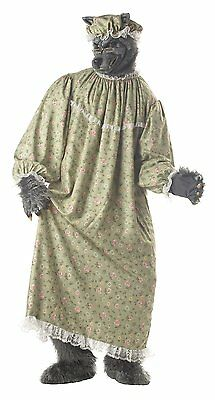 California Costumes Wolf Granny Riding Hood Mens Adult Halloween Costume 01047