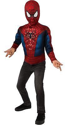 Spider-man Spiderman Avengers LED Muscle Chest - Spider Man Avengers Kostüm