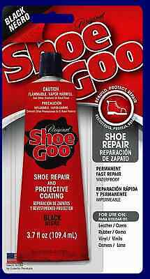 Shoe Goo Black 3.7 for Repairing Worn Shoes.   Fresh Stock 4/14/20