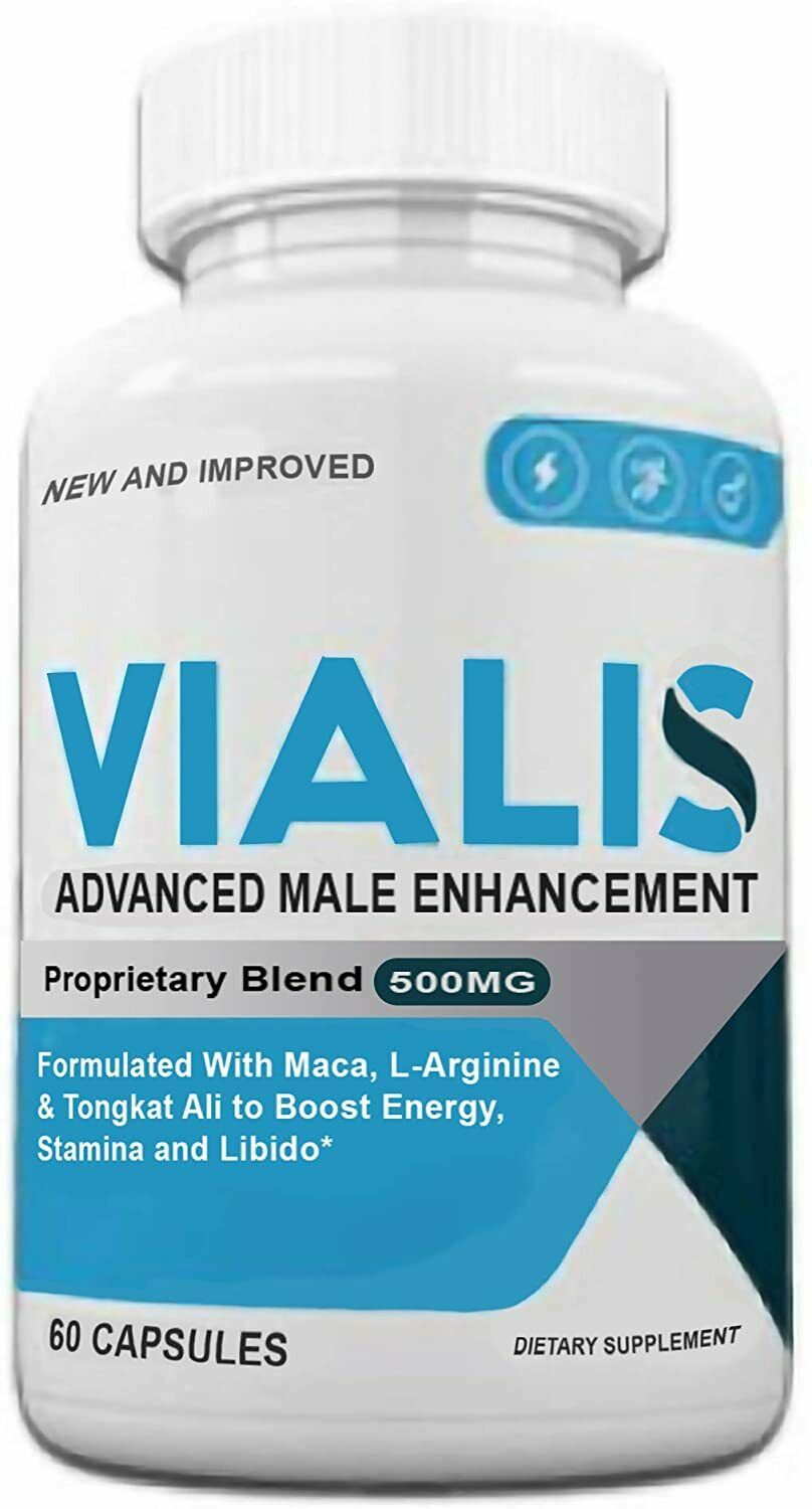 Vialis for Men - Male Performance -  60 capsules
