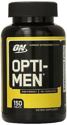 Optimum Nutrition Opti Men Multivitamins 150 Tablets