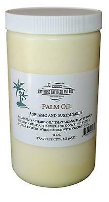 Palm Oil, Soap making supplies. Organic, sustainable 32 fl oz. DIY projects