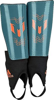 adidas Performance Messi 10 Youth Shin Guards, Teal/Solar Orange Medium LOT OF 4