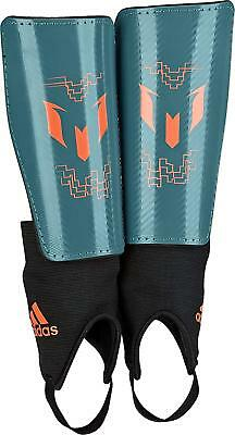 adidas Performance Messi 10 Youth Shin Guards Teal/Solar Orange, Large LOT OF 4