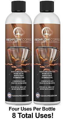 8X USE FreshFlow Cleaner for Keurig Coffee Maker Descaling S