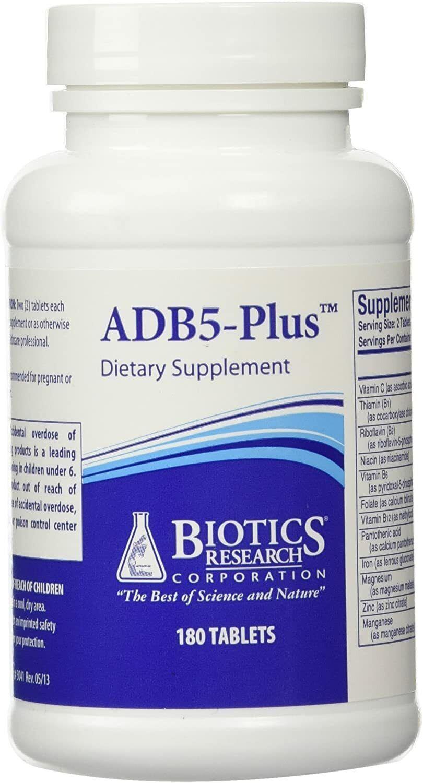Biotics Research ADB5-Plus™ Adrenal Support Supplement 180tabs