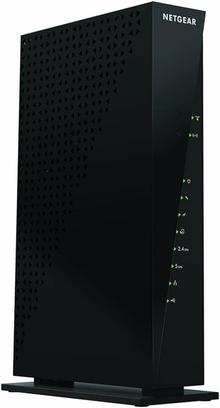 NETGEAR C6300-100NAR Dual-Band AC1750 Router Cable Modem - Refurbished
