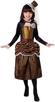 Mädchen Steampunk Halloween Horror Süß Unheimlich Kostüm Kleid Outfit - Unheimliche Kostüm Mädchen