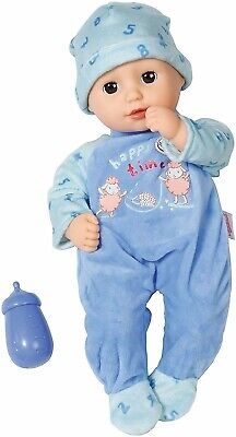 ZAPF CREATIONS BABY ANNABELL LITTLE ALEXANDER 36cm DOLL WITH BOTTLE