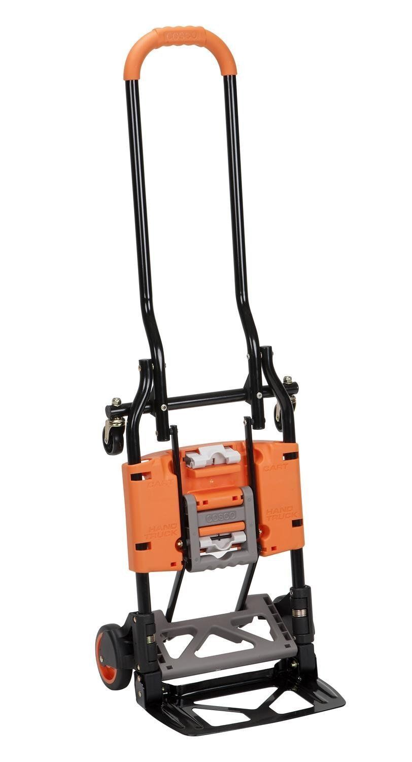 Cosco Shifter Multi-Position Folding Hand Truck And Cart Ora