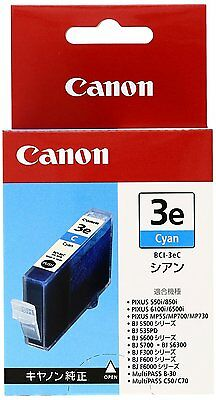 Canon BCI-3eC Cyan Ink Cartridge 4480A001[AB] Genuine /Expiration