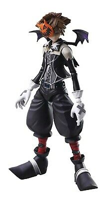 Disney Kingdom Hearts II Bring Arts Sora Action Figure [Halloween Town Version] ()
