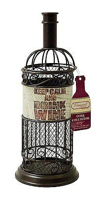 Винные шкафы Wine Bottle Cork Holder