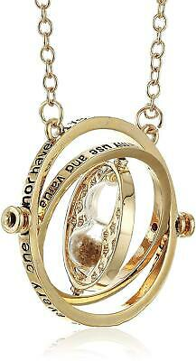 Jewellery - Harry Potter Gold Tone Hourglass Necklace Pendant Hermione Granger Time Turner