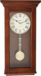 Howard Miller Continental Wall Clock 625-468 – Wooden With Quartz  Single Chime