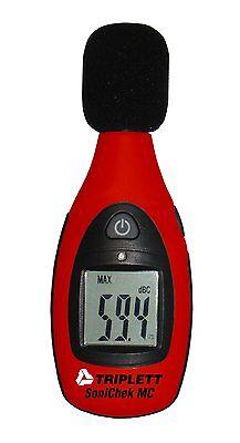 Triplett Tsc-mc1 Sonichek Mc Mini Sound Level Meter 40-130 Db Spl Measurement R