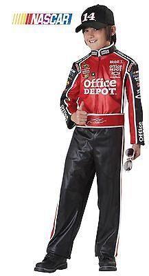 NASCAR Tony Stewart Race Car Driver Child - Child Race Car Driver Costume